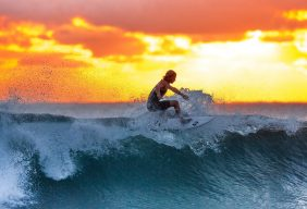 surfer-wave-sunset-the-indian-ocean-390051